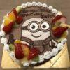 あいもえのキャラクターデコレーションケーキ