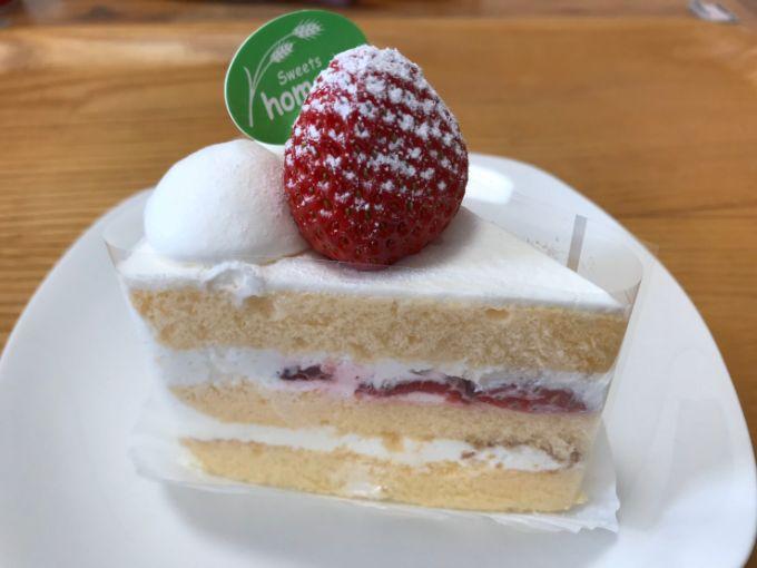 homare(ほまれ)の苺ショートケーキ