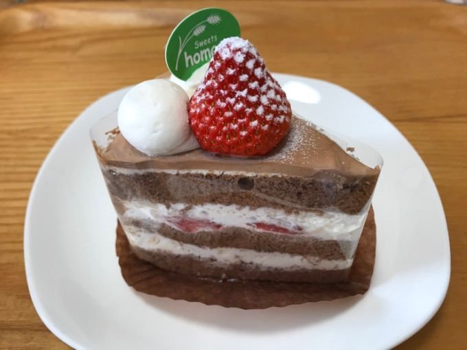 homare(ほまれ)の苺生チョコショートケーキ