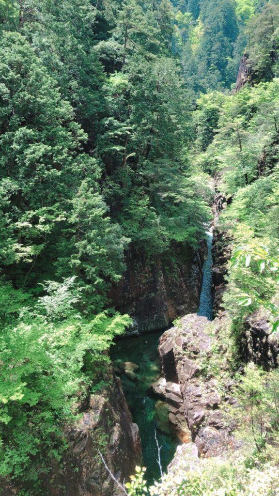 川浦渓谷の絶景