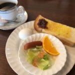 珈琲&レストラン サンジェルマンのモーニング
