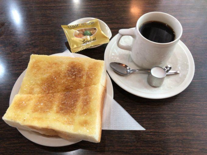 喫茶 太陽のモーニング