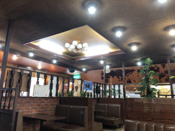 喫茶 太陽の店内