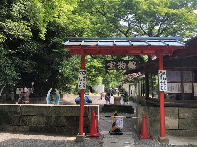 桃太郎神社の珍宝館