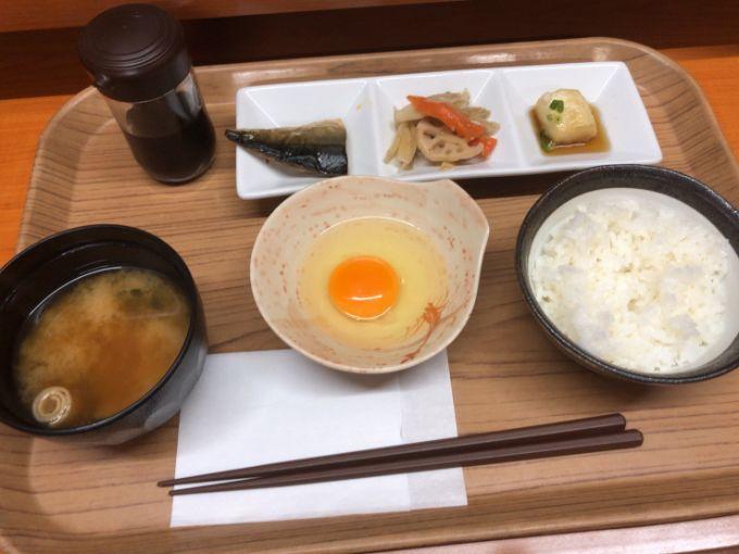 マンガ喫茶ブロンディの和朝食