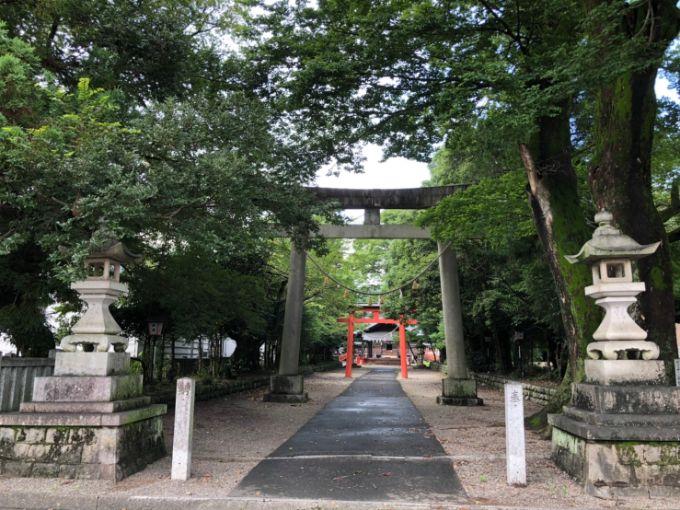 春日神社の入り口