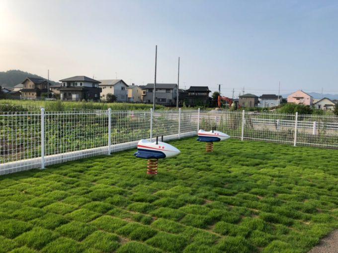 平賀第一公園の幼児用遊具
