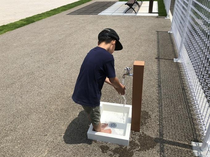 平賀第一公園の水道