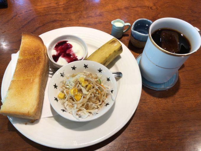 珈琲家 茶倉(さくら)のモーニングセット