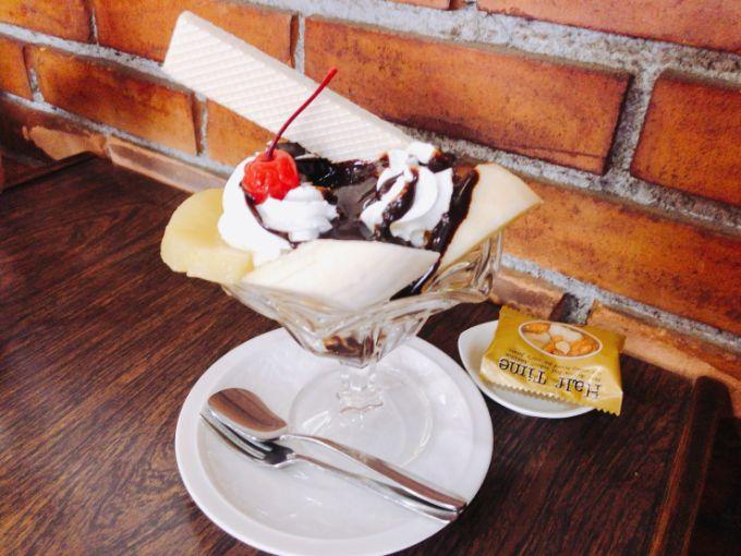 喫茶太陽のチョコレートサンデー