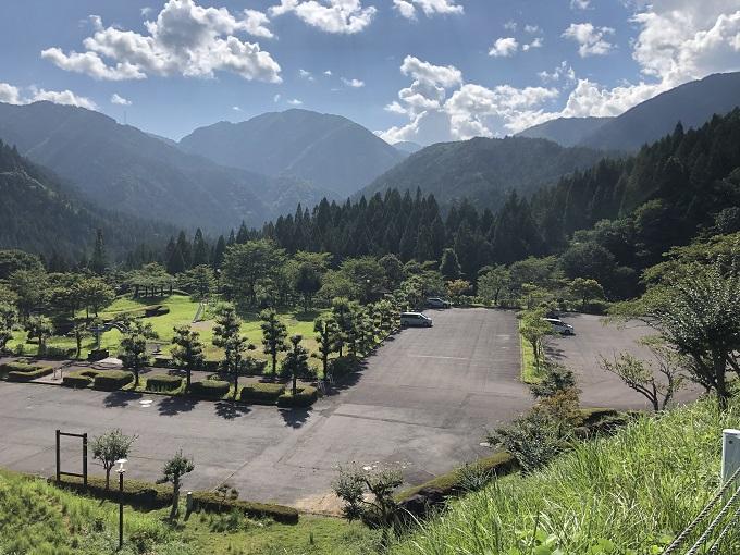 21世紀の森公園の駐車場