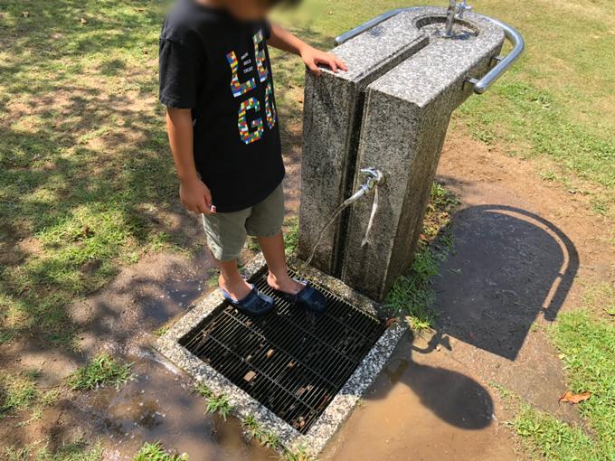山楠公園の水飲み場