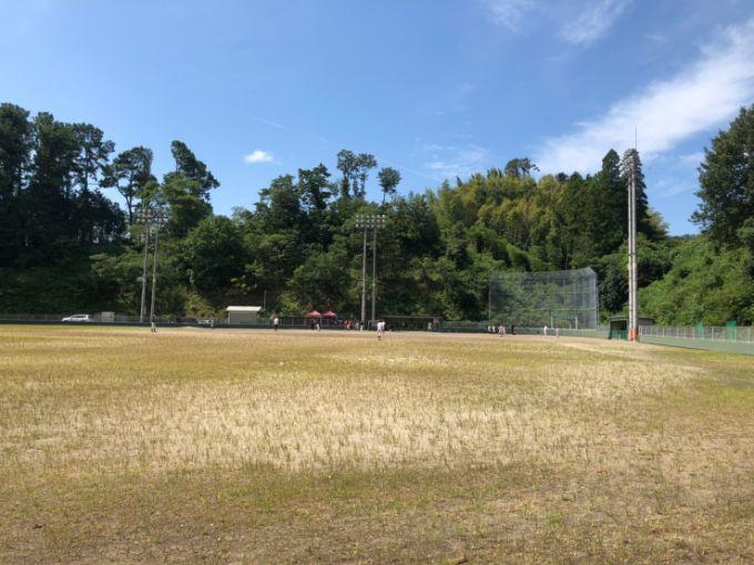 山楠公園の野球場