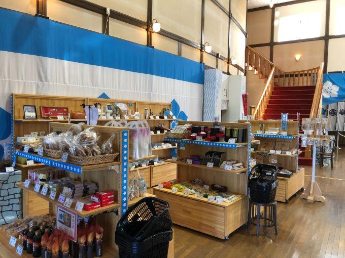 大河ドラマ館の売店