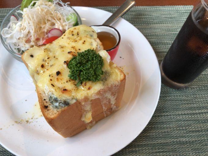 4種のハニーチーズトースト
