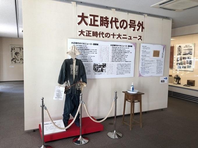 大正時代館の展示室