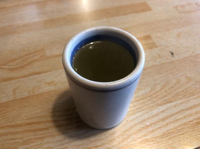 サンテラスふじの梅昆布茶