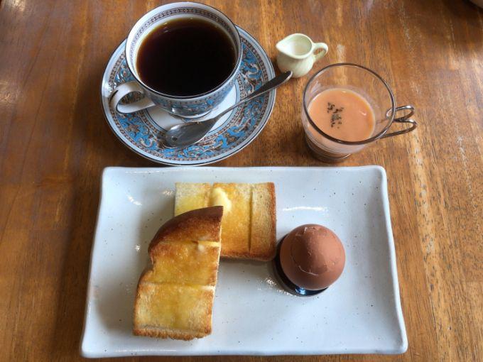 Le cafe Noireのモーニング