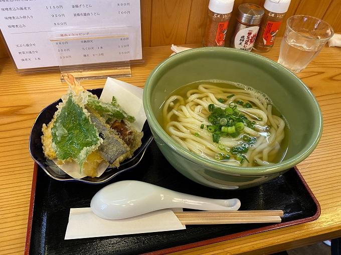 吉田製麺所?の天ぷらうどん