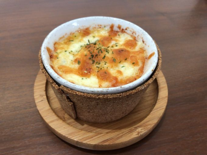 Cafe de L'Eau(カフェドロウ)のほうれん草のココット