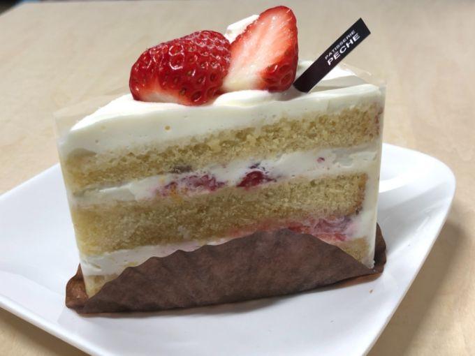 ペーシュのショートケーキ