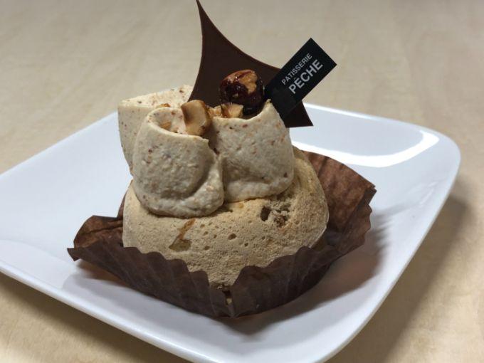 ペーシュのナッツのムラングシャンティ