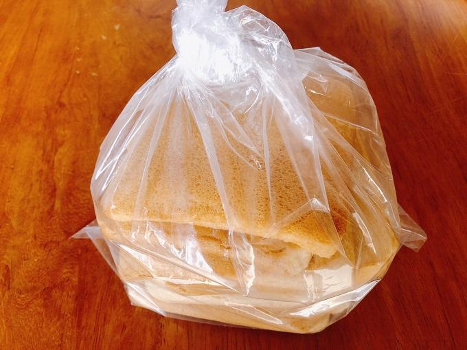 じゃぱんサンドイッチのパン耳