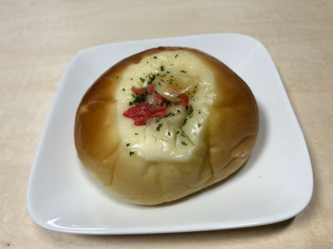 美谷の風ライブリーMの焼きそばパン