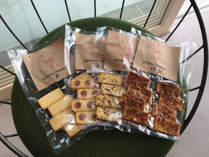 神野テラスのスモークチーズ