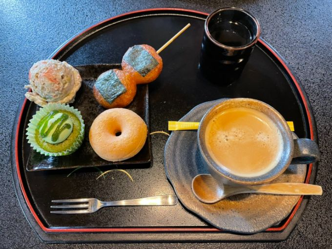 濃州関所茶屋の豆乳ドーナツ