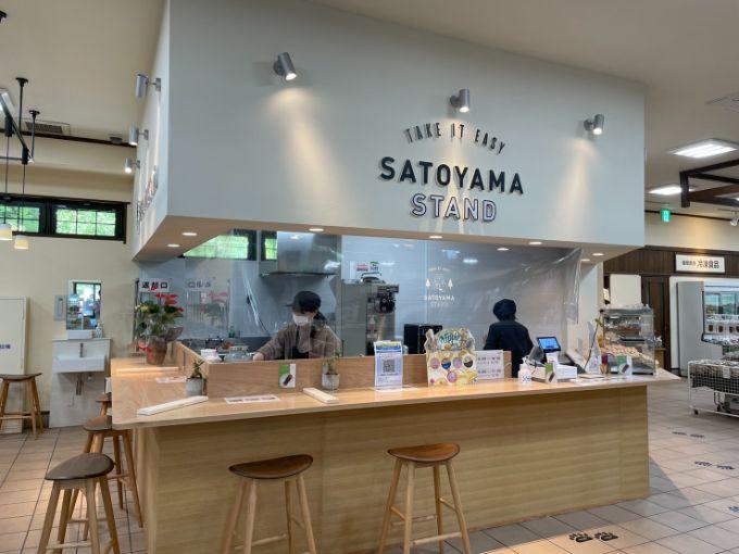 SATOYAMA STANDの販売場