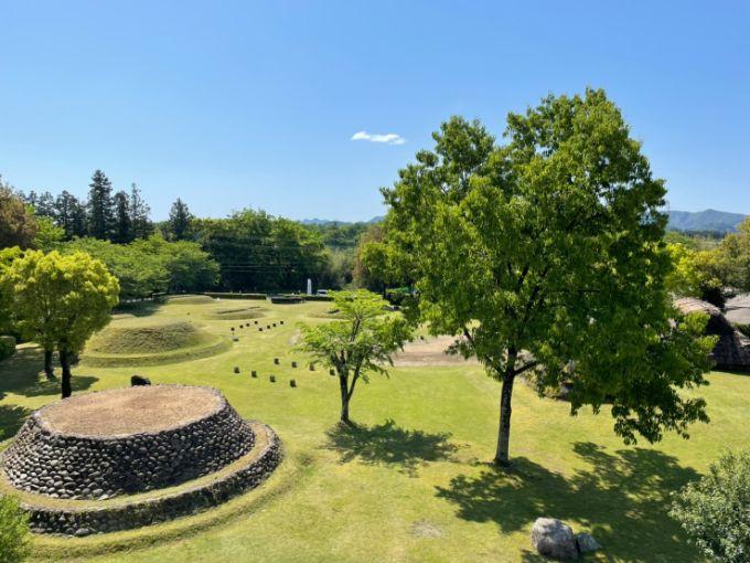 塚原遺跡公園の展望