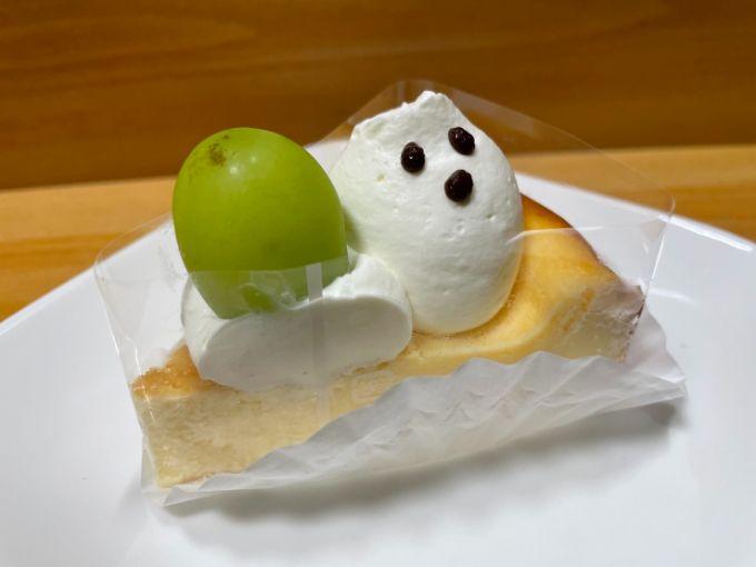 ケーキ喫茶niwaのミルクチーズケーキ