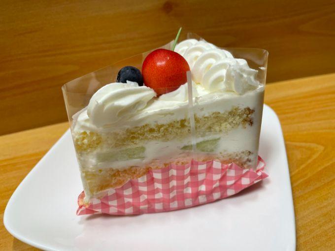 ケーキ喫茶niwaのショートケーキ