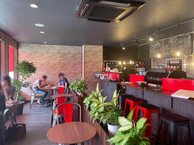 Cafe 103の店内